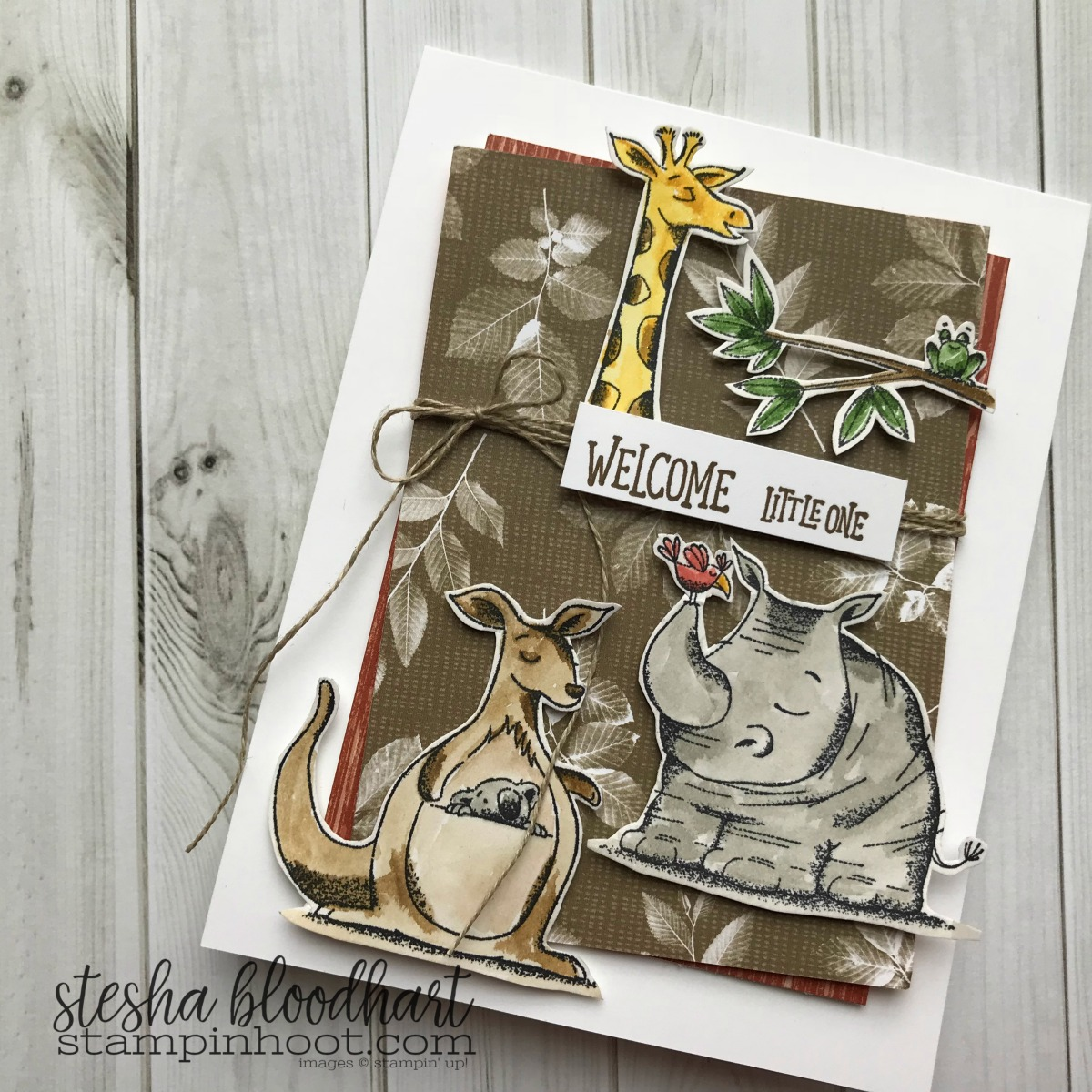 tgifc155 Sketch: Meet Animal Outing | Stampin' Hoot