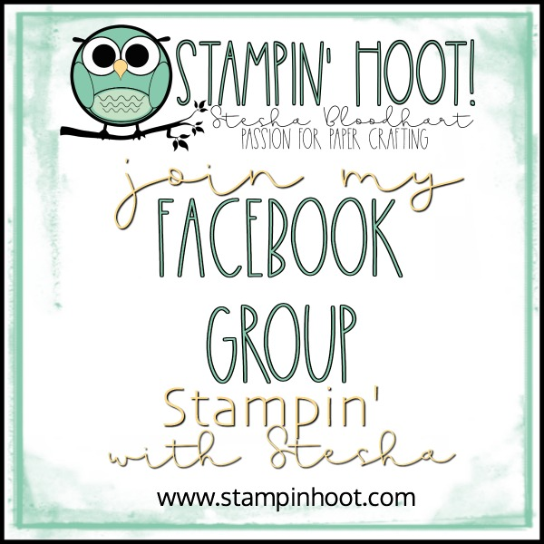 Join My Facebook Group Stampin' With Stesha