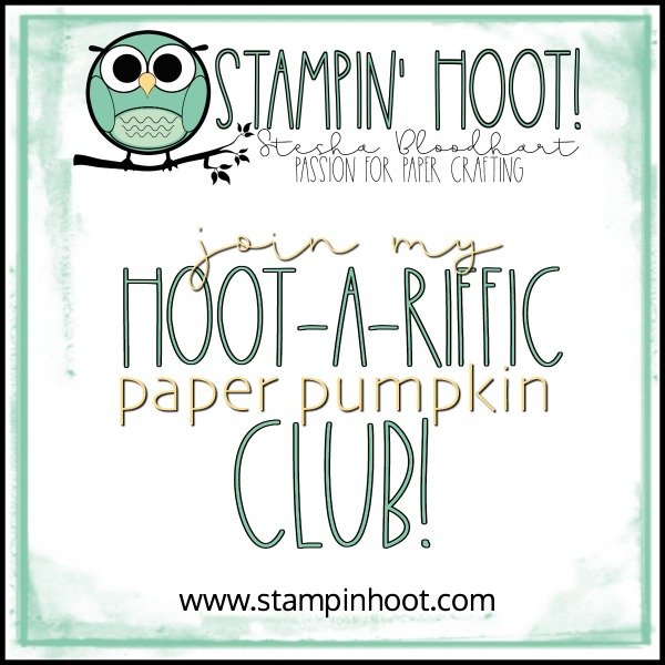 Join My Hoot-a-Riffic Paper Pumpkin Club