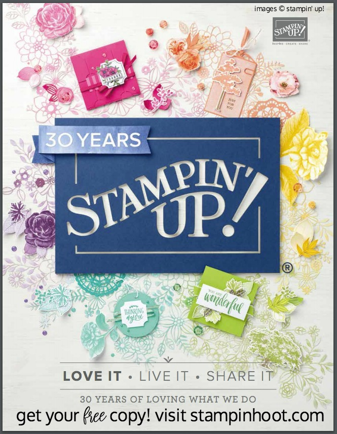 Stampin' Up! 2018-2019 Annual Catalog Cover