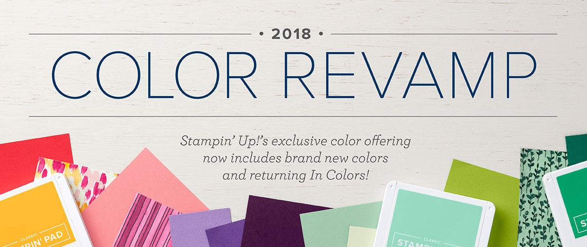Stampin' Up! 2018 Color Revamp Graphic