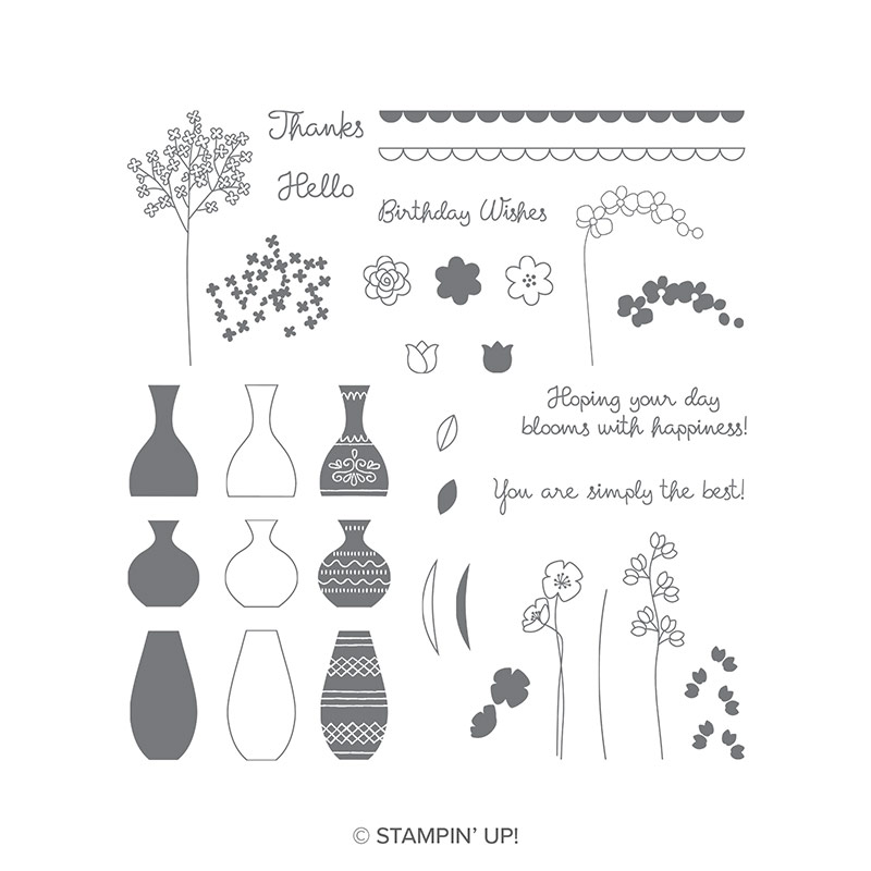 Lots of Lavender Stamp Set, Level One Free Item during Sale-A-Bration by Stampin' Up! Shop with Stampin' Hoot! Stesha Bloodhart #steshabloodhart #stampinhoot #saleabration2018