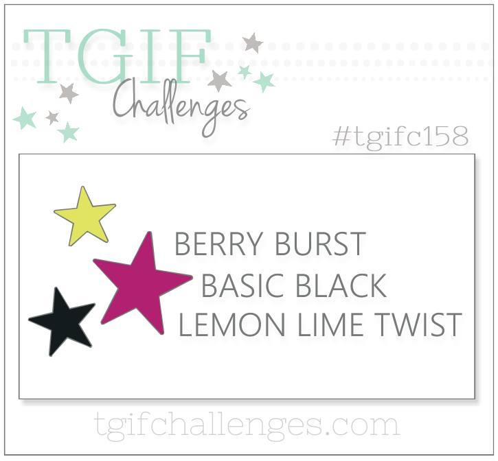 TGIFC158 Color Challenge #tgifc158