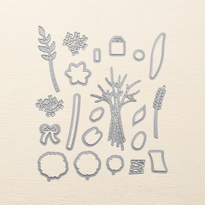 Bouquet Bunch Framelits Dies by Stampin' Up! Shop Online with Stesha Bloodhart, Stampin' Hoot!
