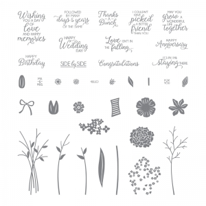 Beautiful Bouquet Photopolymer Stamp Set by Stampin' Up! Order Online from Stampin' Hoot! Stesha Bloodhart