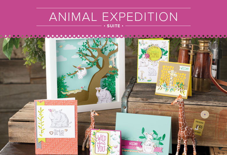 Animal Expedition Suite by Stampin' Up!
