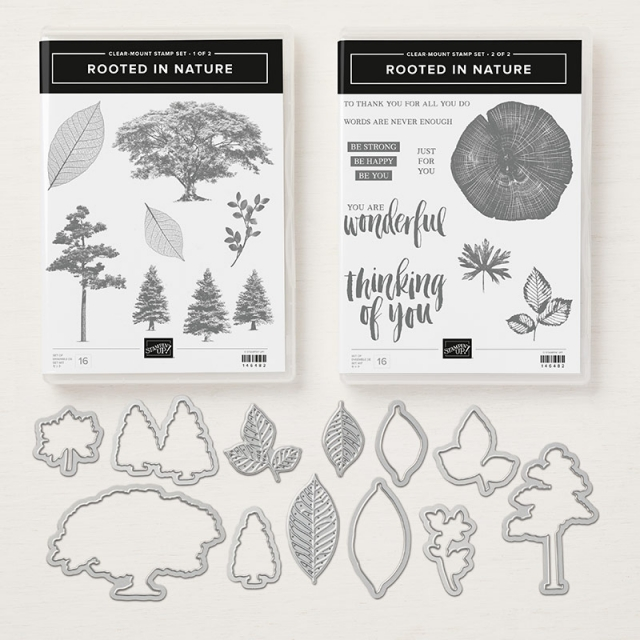 Rooted in Nature Clear Mount Bundle by Stampin' Up!