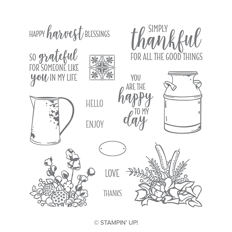 Country Home Stamp Set by Stampin' Up! Order Online via Stesha Bloodhart, Stampin' Hoot! #steshabloodhart #stampinhoot