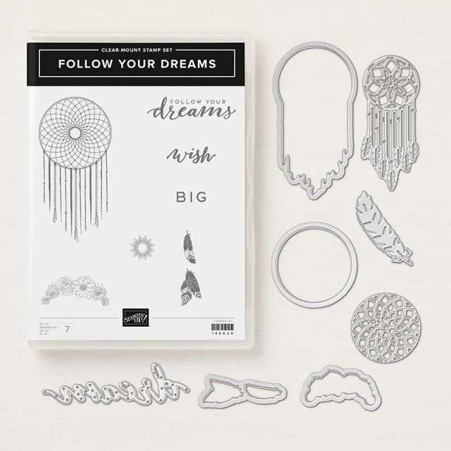 Follow Your Dreams Bundle by Stampin' Up!