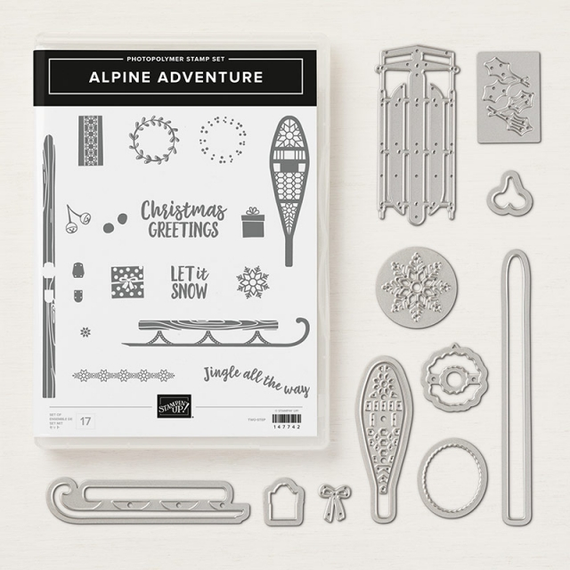 Alpine Adventure Photopolymer Bundle by Stampin' Up! Order from Stesha Bloodhart, Stampin' Hoot! #steshabloodhart #stampinhoot
