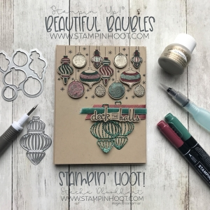 Beautiful Baubles Bundle by Stampin