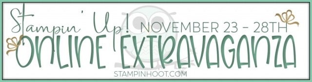 Stampin' Up! Online Extravaganza November 23-28th