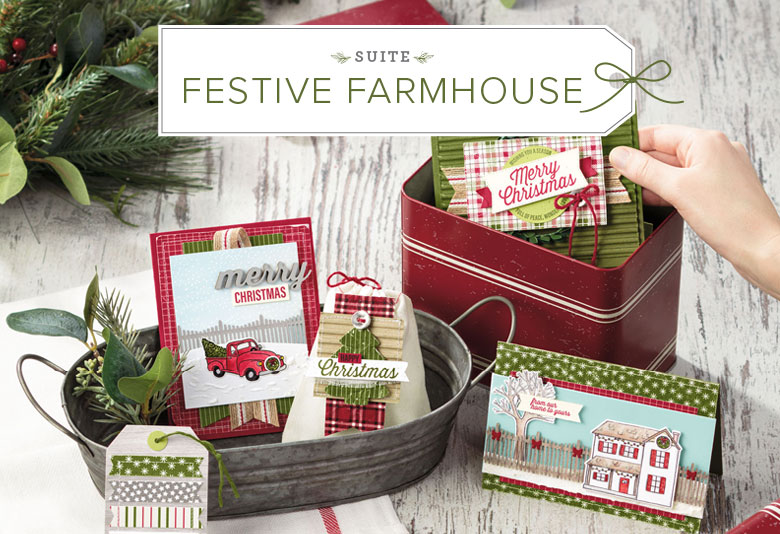 Stamp Review Crew Features Farmhouse Christmas | Stampin' Hoot