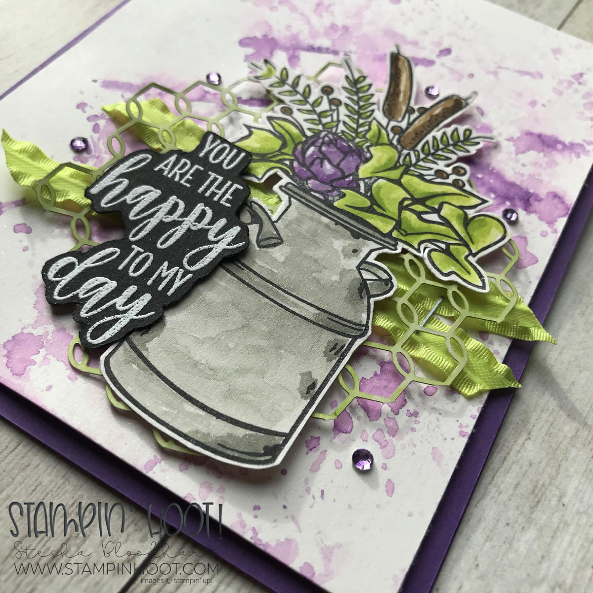 Country Home Stamp Set from the 2018 Holiday Catalog by Stampin' Up! Card created by Stesha Bloodhart, Stampin' Hoot! #steshabloodhart #stampinhoot