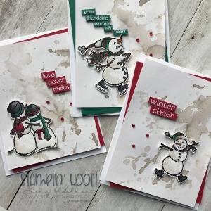 Spirited Snowmen Stamp Set by Stampin