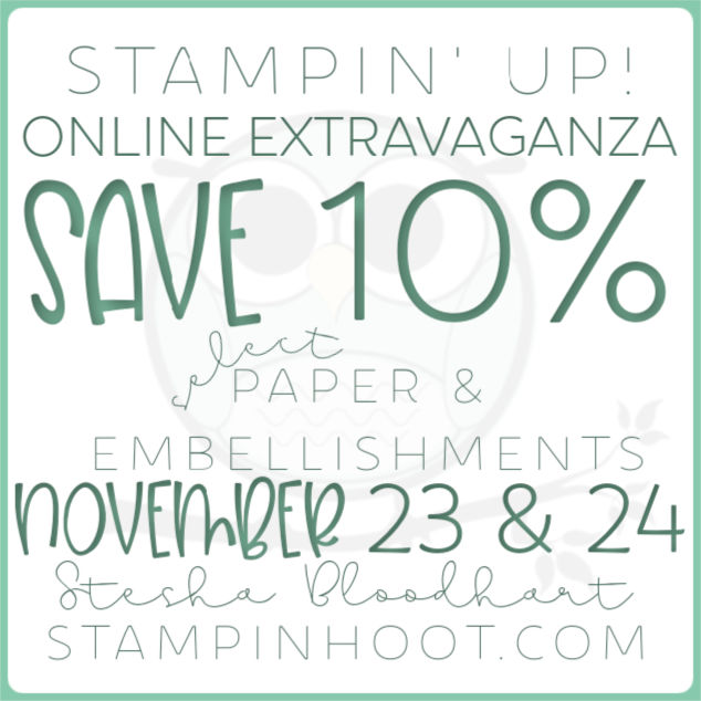 Stampin' Up! Online Extravaganza Paper & Embellishments Annual Catalog