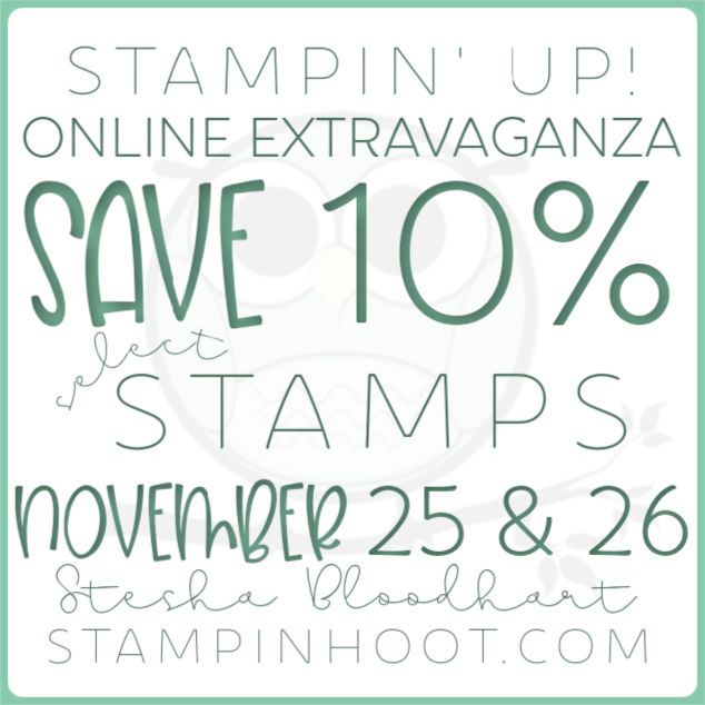 Save 10% on Stamps from the Stampin' Up! Annual Catalog