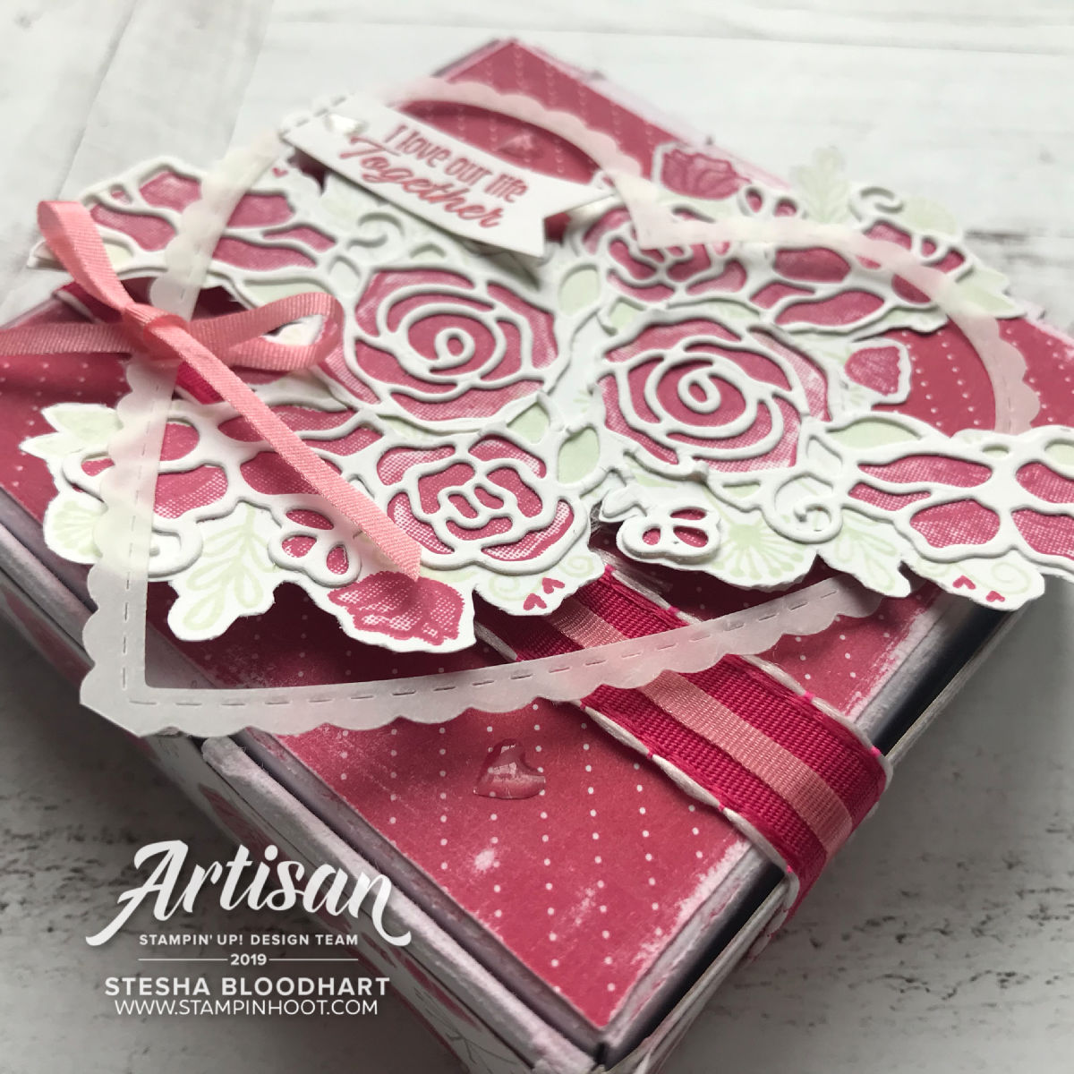 Forever Lovely Stampin' Up! 2019 Artisan Blog Hop!