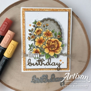 Lovely Lattice Cling Mount Sale-A-Bration Stamp Set by Stampin