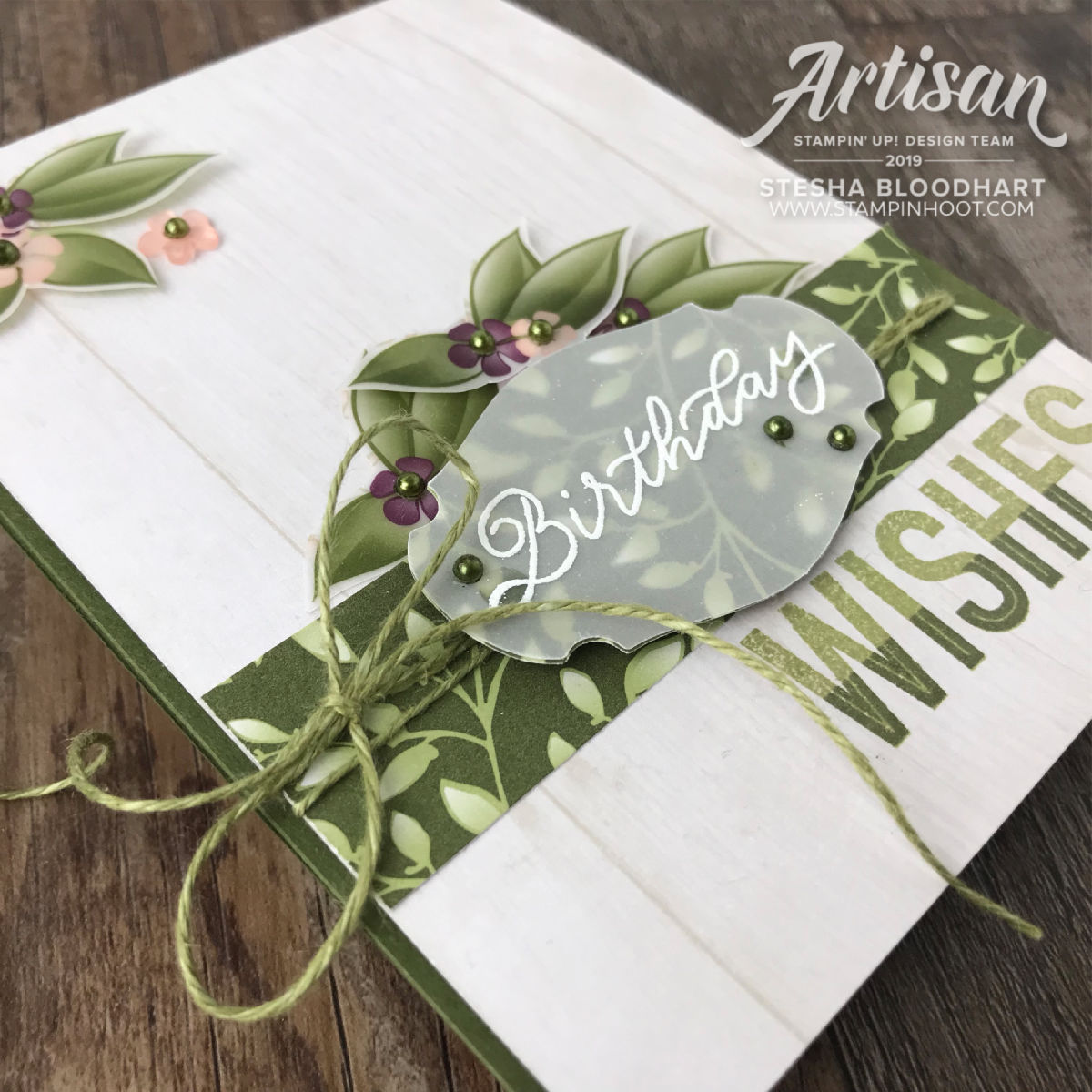 More Than Words Stamp Set & Story Label Punch by Stampin' Up! Created by 2019 Artisan Design Team Member #steshabloodhart #stampinhoot