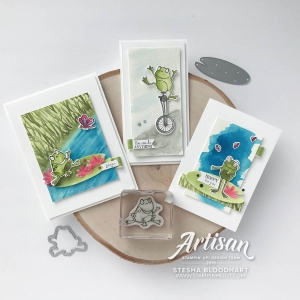 Hop Around Framelits Dies by Stampin
