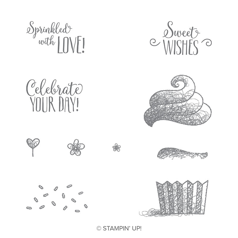 Hello Cupcake Stamp Set by Stampin' Up! 149714
