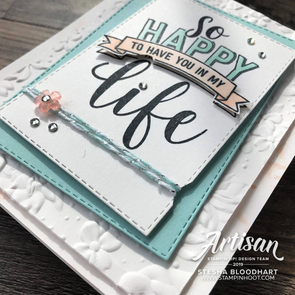 Amazing Life Bundle by Stampin' Up! Rectangle Stitched Framelits Dies Stesha Bloodhart, Stampin' Up!