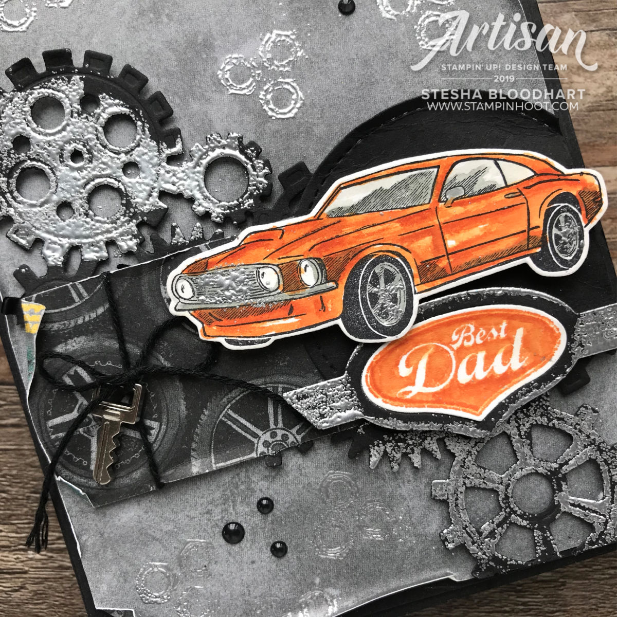 Garage Gears 2019 Artisan Design Stesha Bloodhart Best Dad and Geared Up to Celebrate
