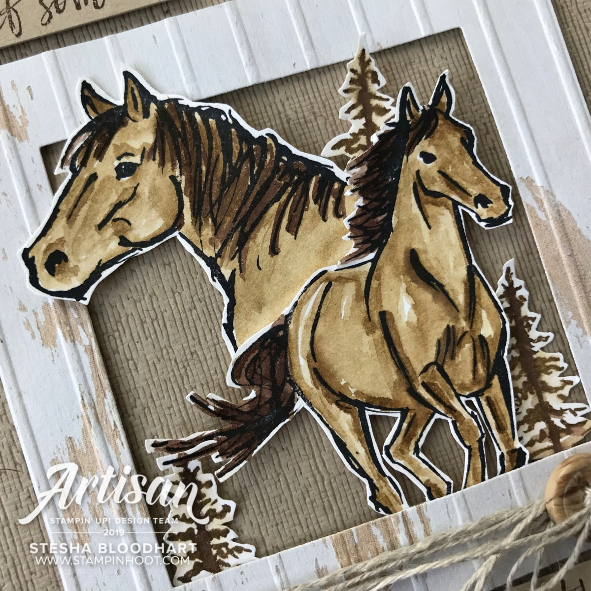 Let it Ride Stamp Set by Stampin' Up! Cards created by Stesha Bloodhart, Stampin' Hoot!