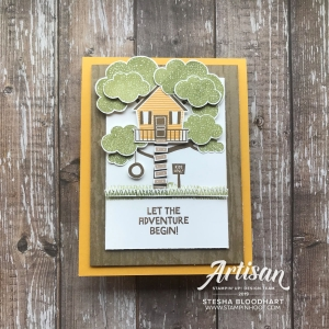 Treehouse Adventure Stamp Set by Stampin