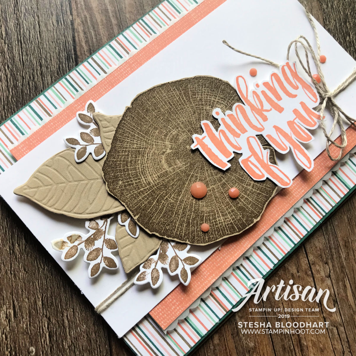 Rooted in Nature by Stampin' Up! Card by Stesha Bloodhart, Stampin' Hoot!