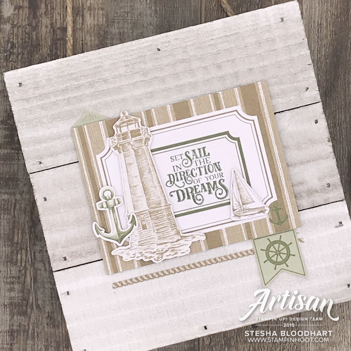 Come Sail Away Suite by Stampin' Up! _ Stesha Bloodhart, Stampin' Hoot!(1)