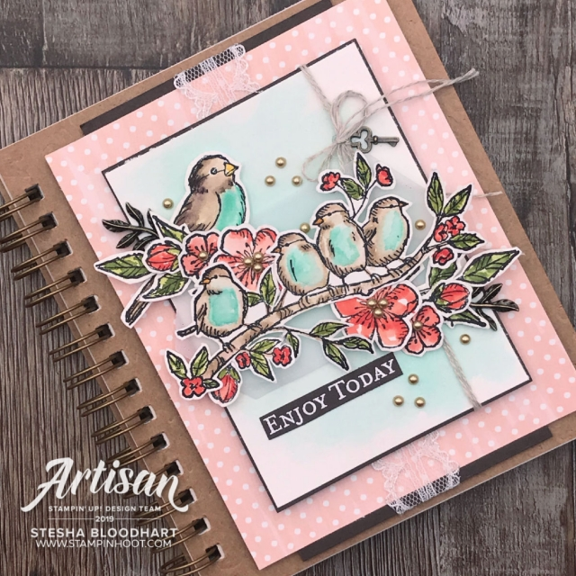 Stesha Bloodhart _ Corp Blog Post_ Free As A Bird_Stampin' Up!