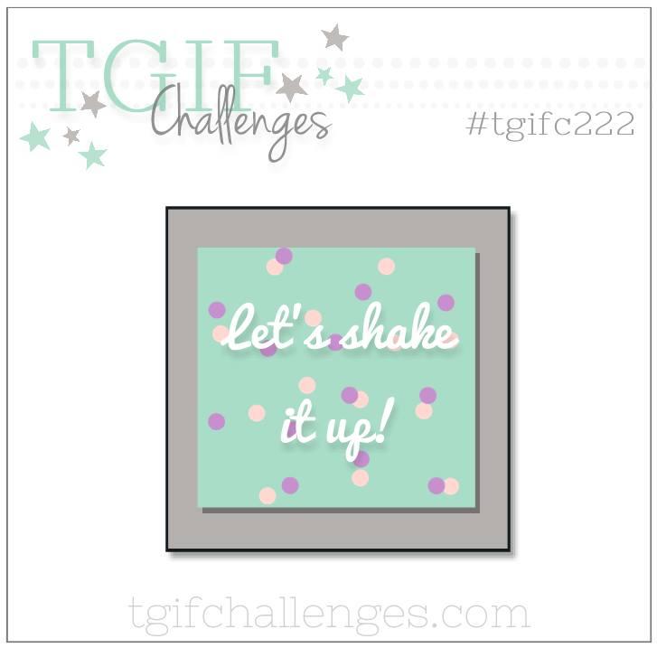 TGIFC222 Shake it Up!