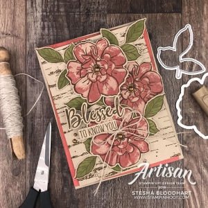 To A Wild Rose Bundle & Terracotta Tile In Color from Stampin