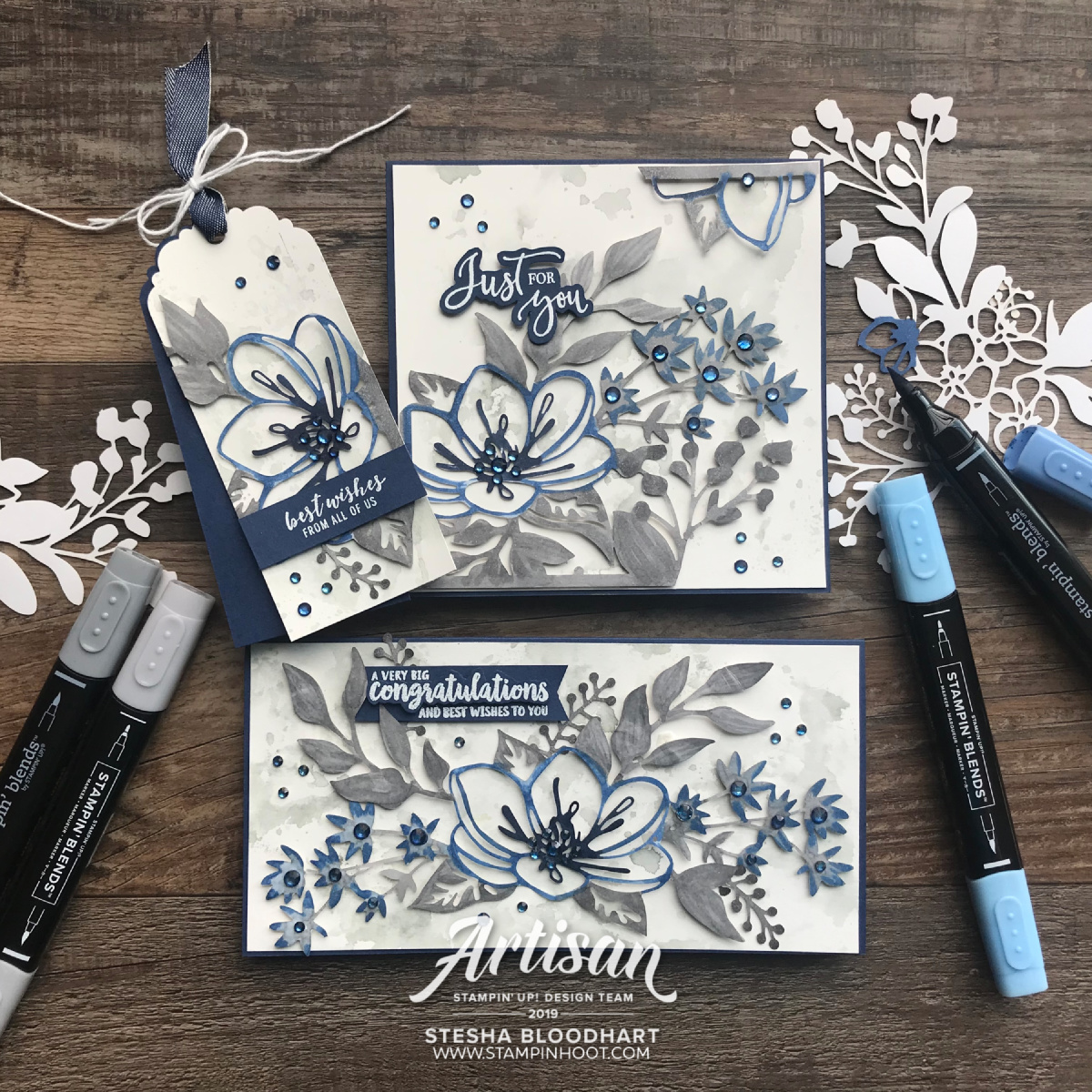 Artisan August 2019 Blog Hop _ Shimmer Detailed Laser-Cut Specialty Paper_Bride & Wedding Gift Set