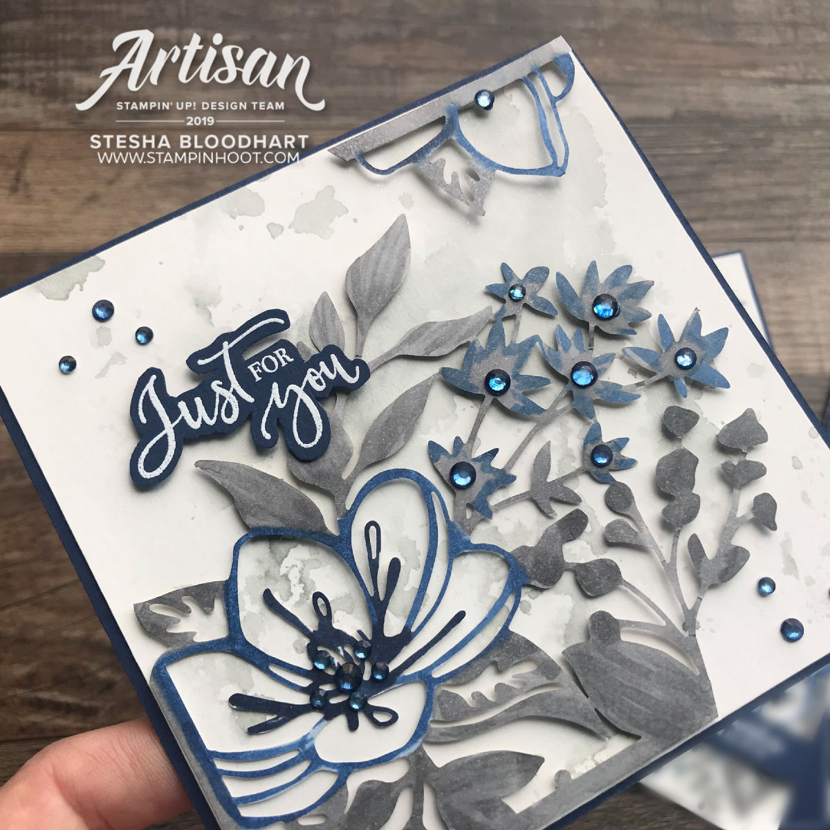 Artisan 2019 Blog Hop _ Shimmer Detailed Laser-Cut Specialty Paper_Bride & Wedding Gift Set