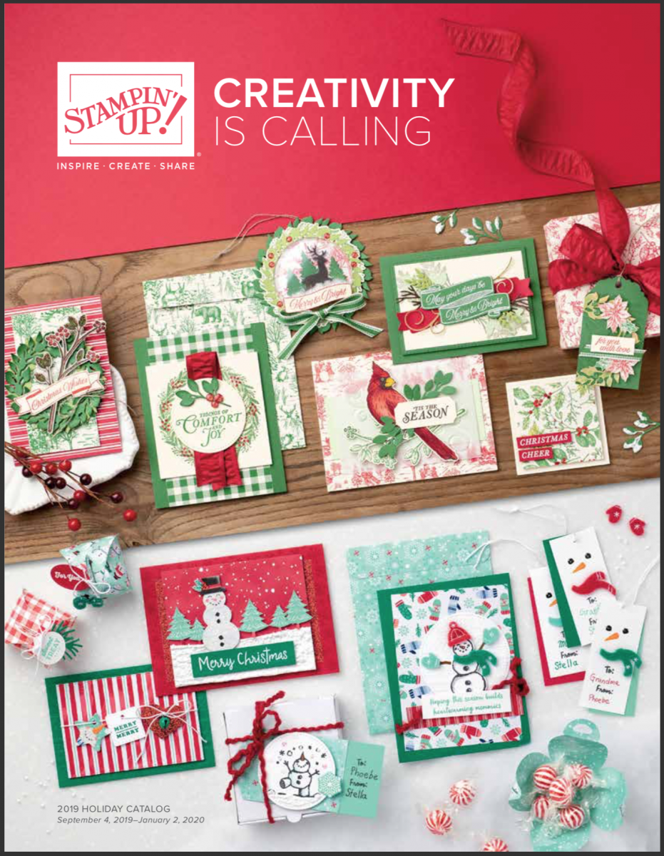 2019 Holiday Catalog by Stampin' Up! Shop with Stampin' Hoot! Stesha Bloodhart