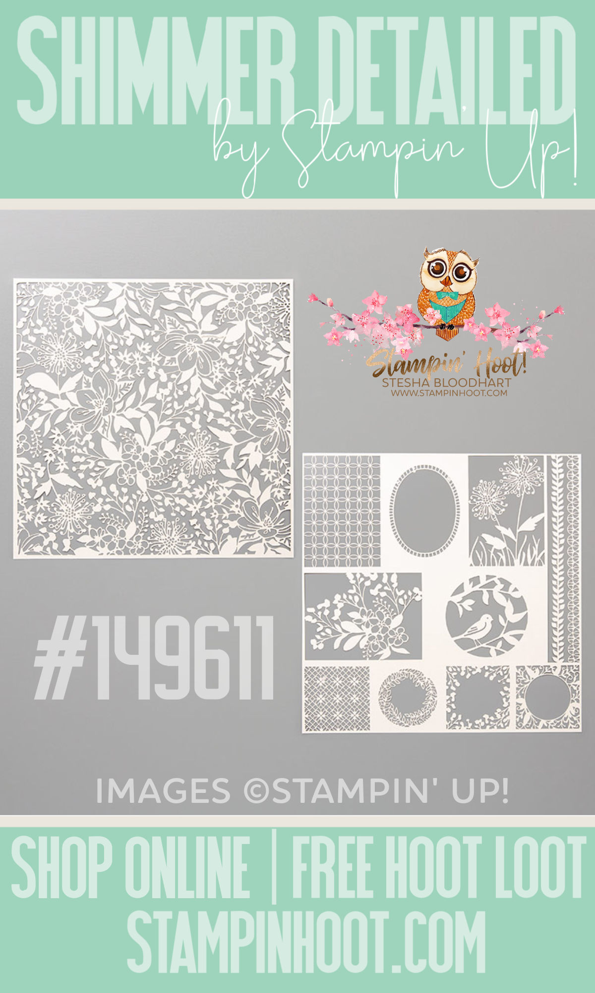 Shimmer Detailed Laser-Cut Specialty Paper from Stampin' Up!
