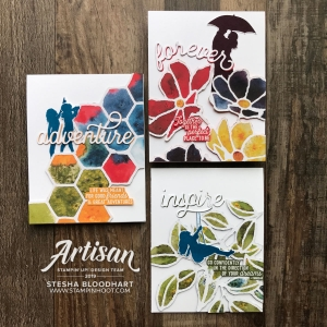 See a Silhouette Designer Series Paper by Stampin