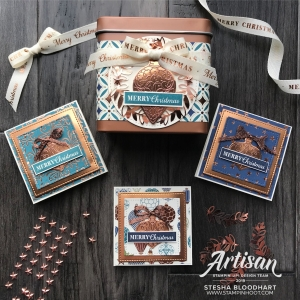 Copper Tea Tins from Stampin