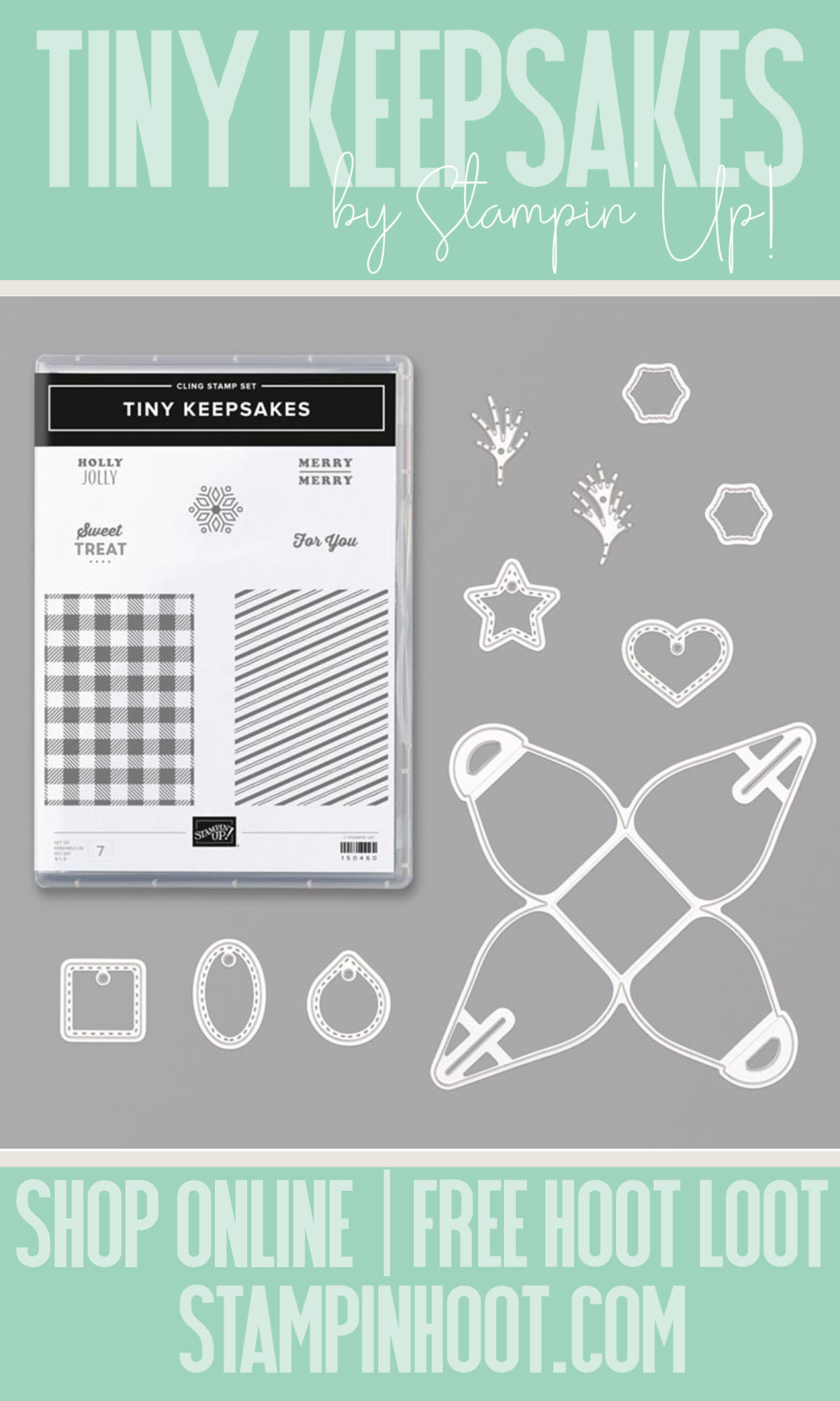 Stampin' Up! Tiny Keepsakes Bundle from the 2019 Holiday Catalog