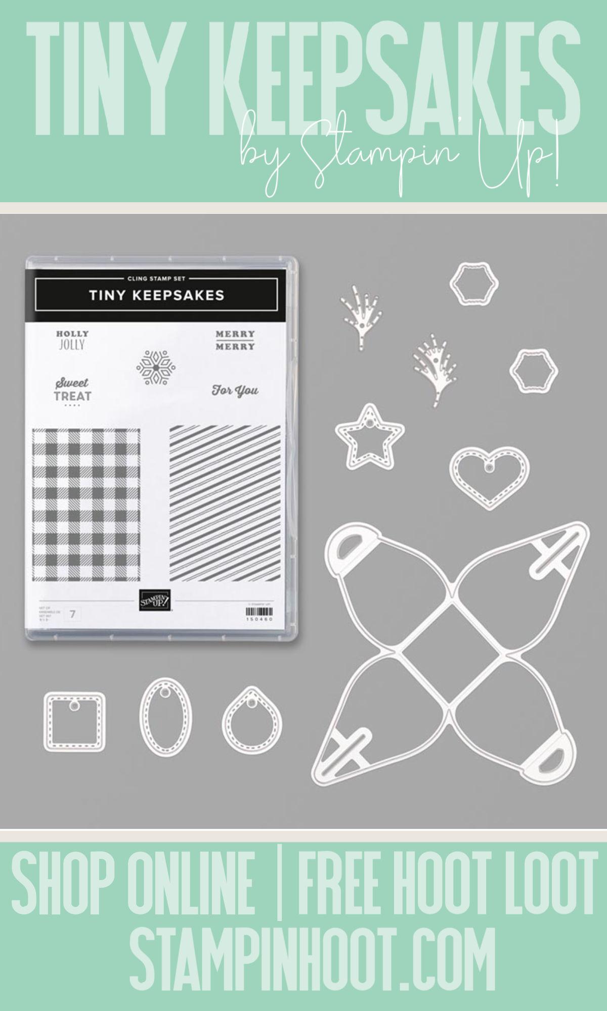 Stampin' Up! Tiny Keepsakes Bundle from the 2019 Holiday Catalog