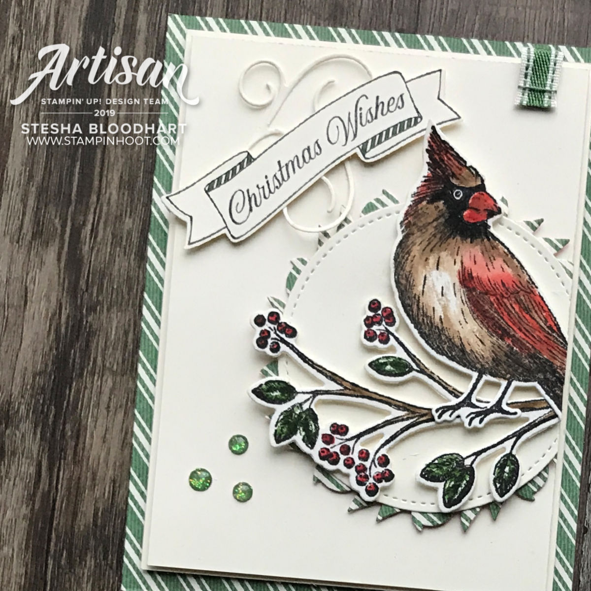 Toile Tidings Product Suite from Stampin' Up! 2019 Holiday Catalog_Cards by Stesha Bloodhart, Stampin' Hoot!