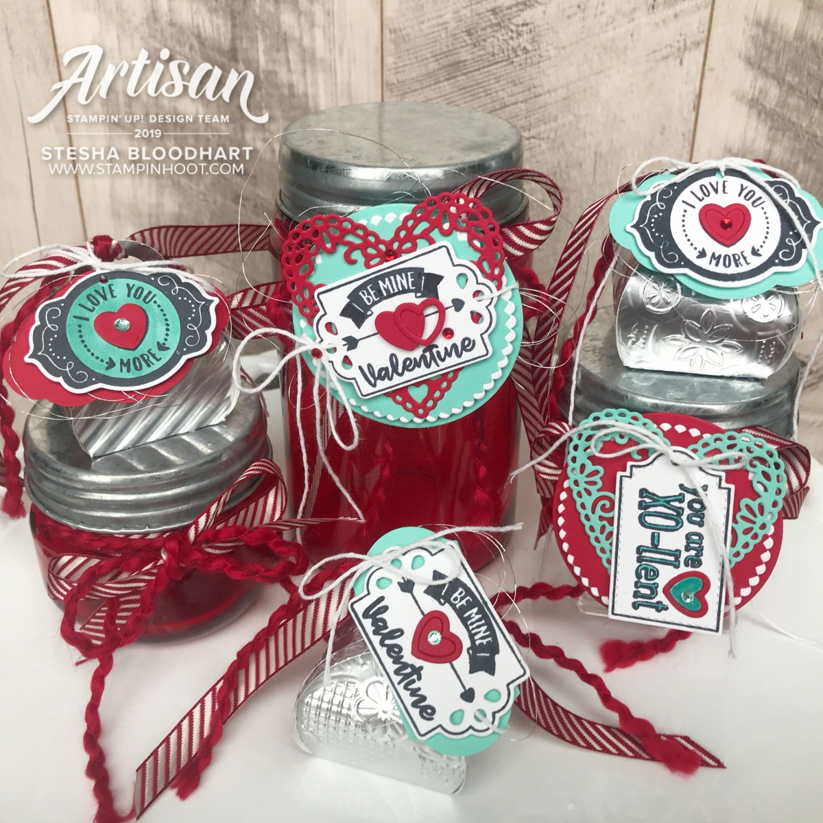 Stesha Bloodhart _ December 2019 Tiny Curvy Keepsakes & Trio of Tags by Stampin' Up!