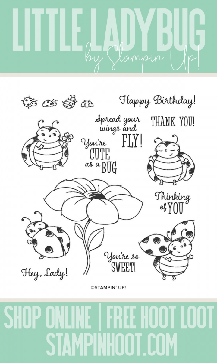 Stampin' Hoot Pin Little Ladybug Stampin' Rewards Exclusive - From Stampin' Up!
