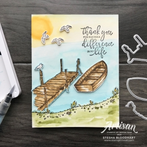 By the Dock Bundle from Stampin