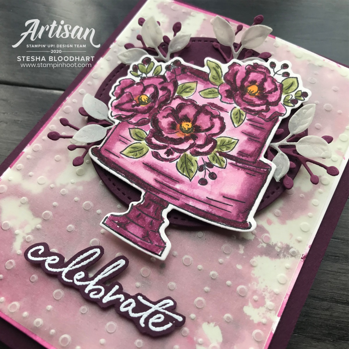 Happy Birthday to You Stamp Set by Stampin' Up! Free with $50 Purchase during Sale-a-Bration