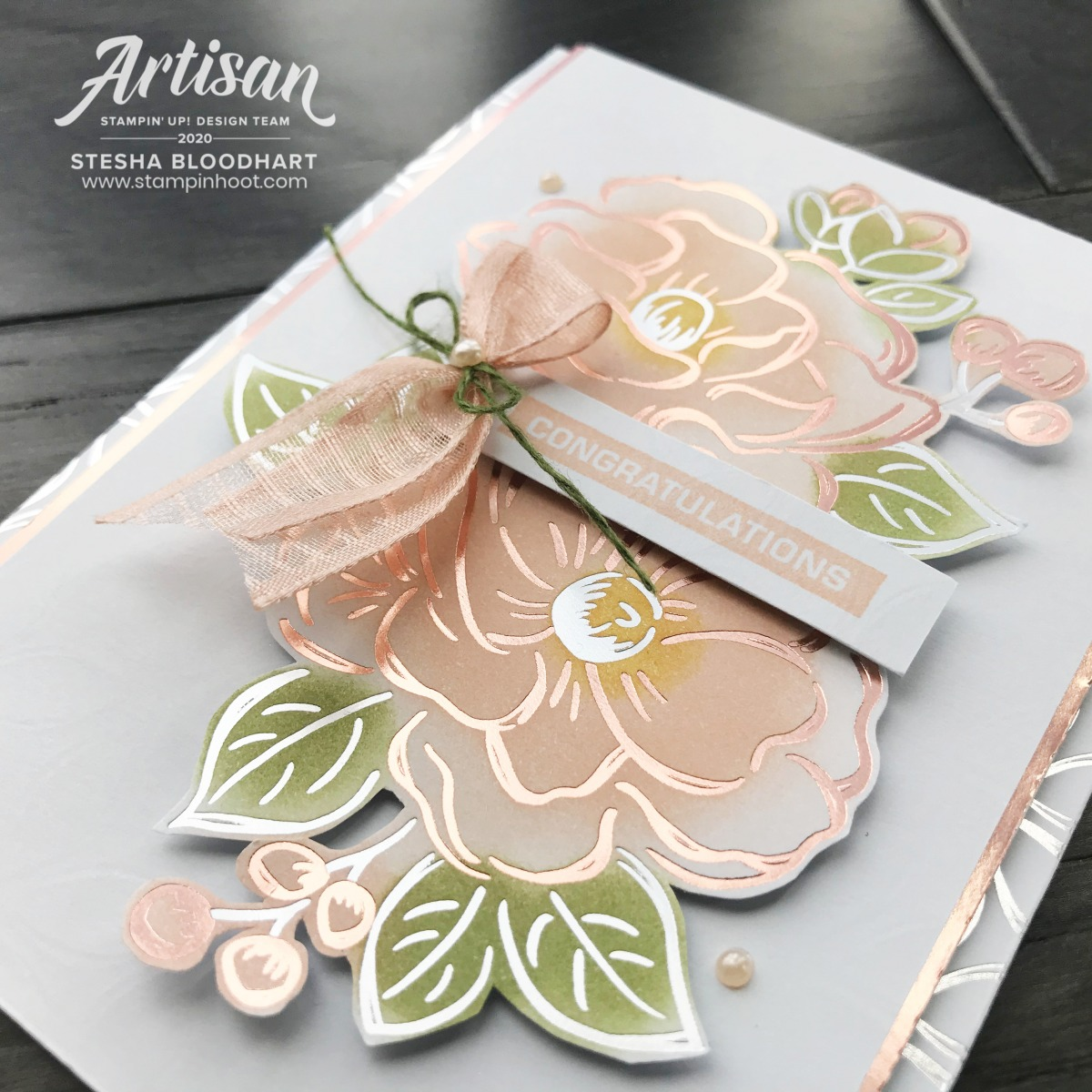 Flowering Foils DSP FREE Sale-a-Bration 2nd Release