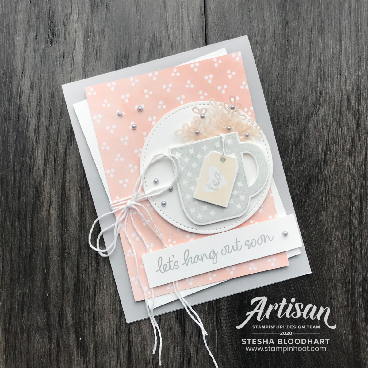 Rise & Shine Stamp Set by Stampin' Up! Free with $100 Purchase during Sale-A-Bration Card by Stesha Bloodhart, Stampin' Hoot!